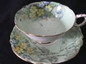 Paragon cabinet cup & saucer - spring flowers